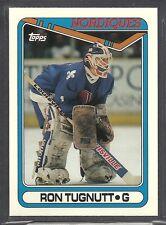 1990-91 Topps Tiffany Hockey - #367 - Ron Tugnutt - Quebec Nordiques