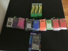 Lot of 53 Brand New and Sealed Calculators and 180 Ticonderoga Pencils