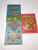 Vintage Yogi Bear Earthquake Preparedness Comic Hanna-Barbera 1984 First Aid