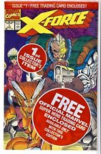 X-FORCE Vol.1 #1(8/91)POLYBAGGED-w/CABLE CARD(DEADPOOL)3rd WARPATH(CGC IT)9.8!!!