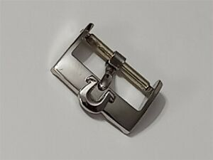 AUTHENTIC 1960'S OMEGA 16MM STAINLESS STEEL WATCH BUCKLE