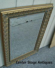 00001 Gold Decorator Mirror in Fancy Carved Picture Frame