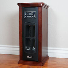 NEW Infrared Quartz Portable Electric Tower Space Heater with Remote, 1500 Watts