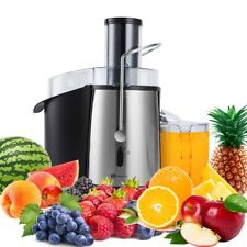 PureMate 1000W NaturoPure Juicer Machine Whole Fruit/Vegetable Juice Maker