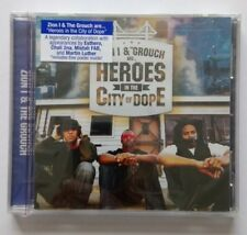 ZION I &THE GROUCH ARE HEROES IN THE CITY OF DOPE MUSIC CD NEW & SEALED
