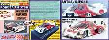 ANEXO DECAL 1/43 RONDEAU M 379B MARTIN/MARTIN/SPICE LE MANS 1980 (01)