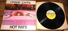 FRANK ZAPPA & MOTHERS ~ HOT RATS ~ UK REPRISE STEREO LP RIVERBOAT 1ST PRESS 1969