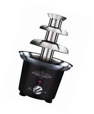 Gourmet Gadgetry Mini 3 Tier Stainless Steel Chocolate Party Celebratio Fountain