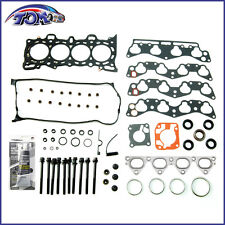BRAND NEW ENGINE HEAD GASKET & BOLT SET FOR HONDA CIVIC&CIVIC DEL SOL 1.6L
