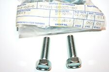 nos Yamaha snowmobile bumper bolts srx440 ex340 ex440 intake axle steering et250
