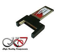 Gamme Pro - ExpressCard 34 - 2 Ports COMPACT FLASH CF - RAID/ INDE / BIG DRIVE
