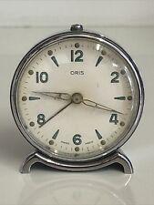 More details for oris swiss vintage bedside mechanical clock
