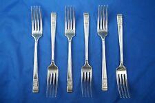 SET OF 6 PEDIGREE PLATE BY T TURNER & CO WINDSOR PATTERN TABLE FORKS
