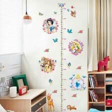Disney Princess Height Chart Wall Decal Removable Sticker Girl Nursery Art Decor