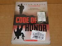 Code of Honor by Alan Gratz NEW SEALED with DOG TAG Scholastic