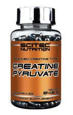 Proteine e prodotti Scitec Nutrition creatina capsula per il body building