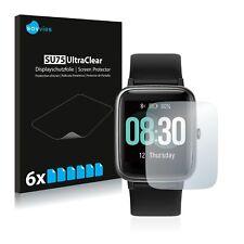 6x Lifebee Fitness Tracker ID205L Displayschutzfolie Klar Transparent