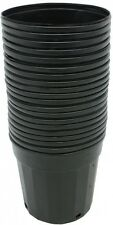 Plastic Nursery Pot 2 Gallon Flower Vegetable Plant Garden Planter 20-Pack