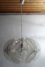 mid century design 60s spacige Designer Lampe Plexi Acryl Nylon Faden Leuchte