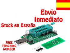 USB PROGRAMMER PROGRAMADOR 25 SPI SERIE 24 EEPROM BIOS BOARD CH341A FLASH WRITER