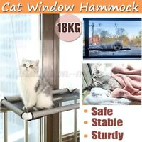 Up 20KG Cat Bed Basking Window Hammock Perch Cushion Bed Hanging Shelf Seat