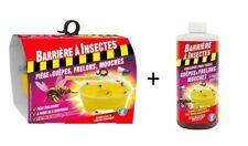 PIÈGE À MOUCHE + ATTRACTIF GUÊPES FRELONS ASIATIQUES protège abeille bourdons