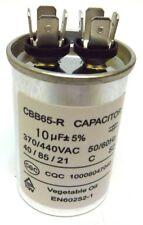 10uF MFD 370V 440V VAC Oil Filled Motor Run Capacitor CBB65 40x60mm