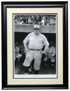 Babe Ruth The Bambino Framed 16x22 New York Yankees Historical Photo Archive