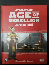 Star Wars Roleplaying Game Age of Rebellion Desperate Allies RPG Hardcover NEW!