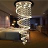 LED Luxury Crystal Chandelier Raindrop Ceiling Lighting Chandelier Decoration
