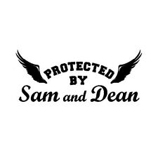 Decal Vinyl Truck Car Sticker - TV Supernatural Protected By Sam And Dean