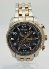 Citizen AT9016-56H World Time AT Eco-Drive Radio Controlled Rose Gold Mens Watch