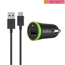 Belkin - Cargador de coche (USB 2.1A) con Cable USB Type-C (1.5M) USB-C a USB-A