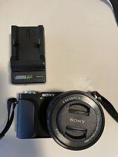 Sony Alpha NEX-3N Mirrorless Digital Camera with 16-50mm f/3.5-5.6 Lens Black
