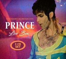 PRINCE New Sealed 2019 LIVE 1980s & 90s CONCERTS 3 CD SET