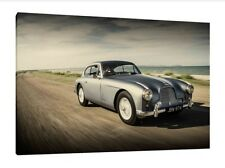 1954 Aston Martin DB2/4 - 30x20 Inch Canvas - Classic Framed Picture Print