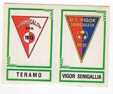 figurina CALCIATORI PANINI 1982/83 NEW numero 591 TERAMO VIGOR SENIGALLIA