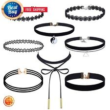 Chokers For Kids Accessories Teens Choker Necklace Kit Jewelry Sets Girls Lace