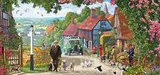 Gibsons - 636 PIECE PANORAMIC JIGSAW PUZZLE - A Morning Stroll
