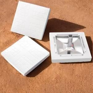 MacGregor Major League Bases Set of 3 for Baseball/Softball with Anchors