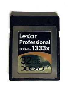 card LEXAR Professional XQD 32GB 1333x