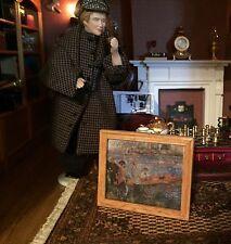 Casa De Muñecas (agua color) Victoriano Vintage Tudor temprano mirada?