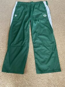 Green Bay Packers Mens On Field Sideline Reebok Energy Reserve Pants Sz 4X NWOT