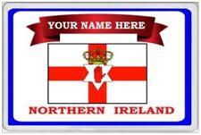 NORTHERN IRELAND - PERSONALISED JUMBO FRIDGE MAGNET - NORN IRON ULSTER BELFAST