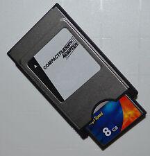 PCMCIA Adaptateur CF 8 GB pour Mercedes Comand aps C197 W212 W204 W221 W207