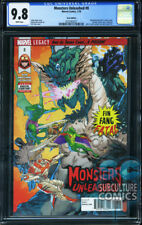 MONSTERS UNLEASHED #8 - ERROR VARIANT - FIRST PRINT - CGC 9.8 - SOLD OUT