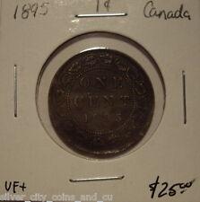 Canada Victoria 1895 Large Cent - VF+