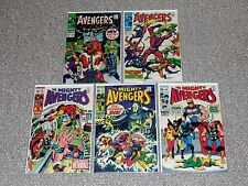 Avengers # 54. 55, 66, 67 & 68 Lot 1st Appearances of Ultron Mid-Grade Condition