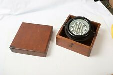 Wilcox Crittenden & Co Ship's Compass (O3R) Dated 1931 Boat Nautical Gimbal Box