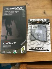 Respro Ultralight Olive Green, Small. Respirator, face covering PLUS FILTERS X2